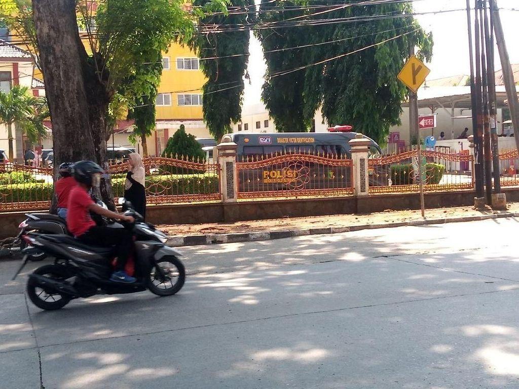 Penjagaan di RS Bhayangkara Depok Masih Diperketat