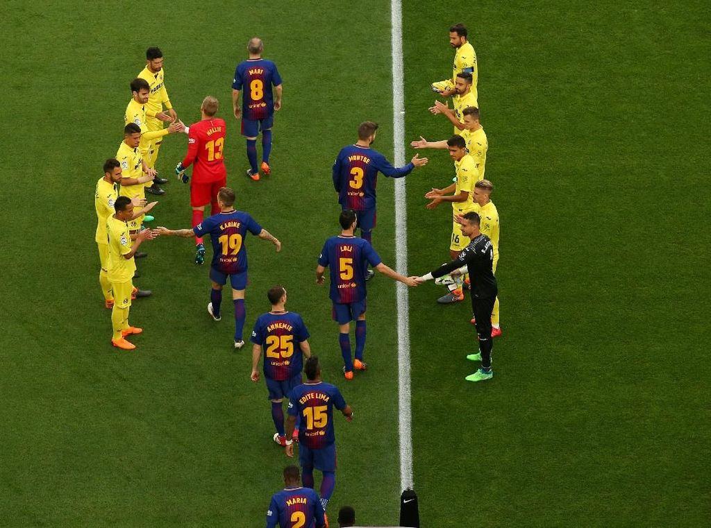 (Akhirnya) Barcelona Dapat Guard of Honor, lalu Menang Besar
