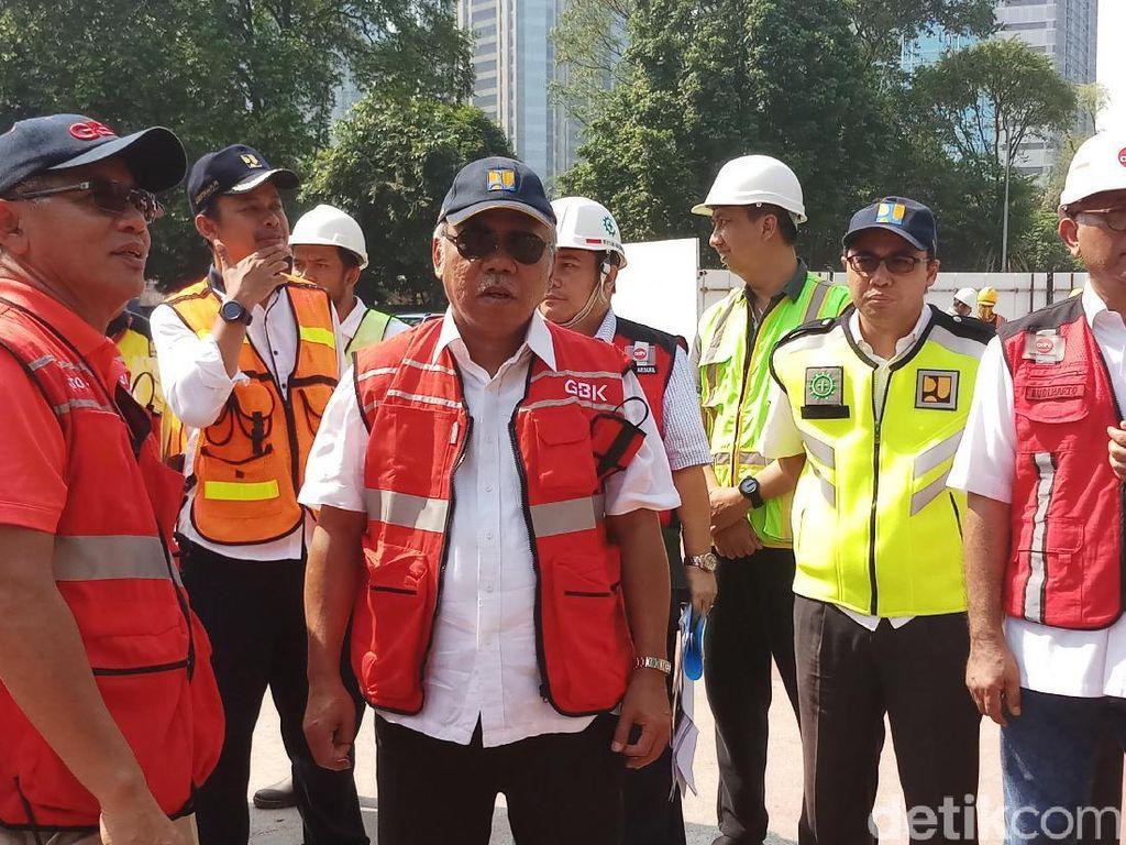 Cek Kesiapan Asian Games, Menteri PUPR Inspeksi Kawasan GBK