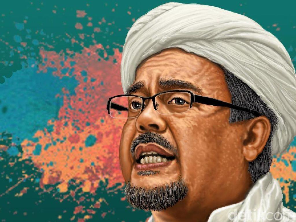 Permintaan Hapus Kasus Habib Rizieq di Ujung Debat Soal Pancasila