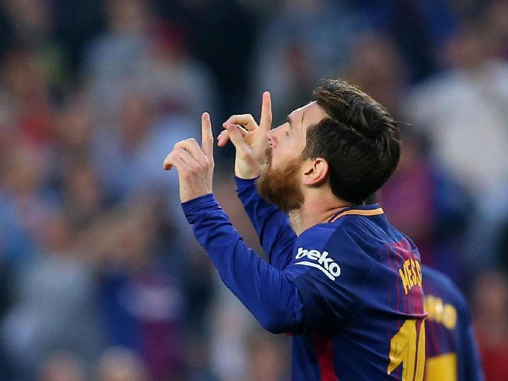 Perebutan Sepatu Emas Eropa: Messi Unggul Tiga Gol dari Salah