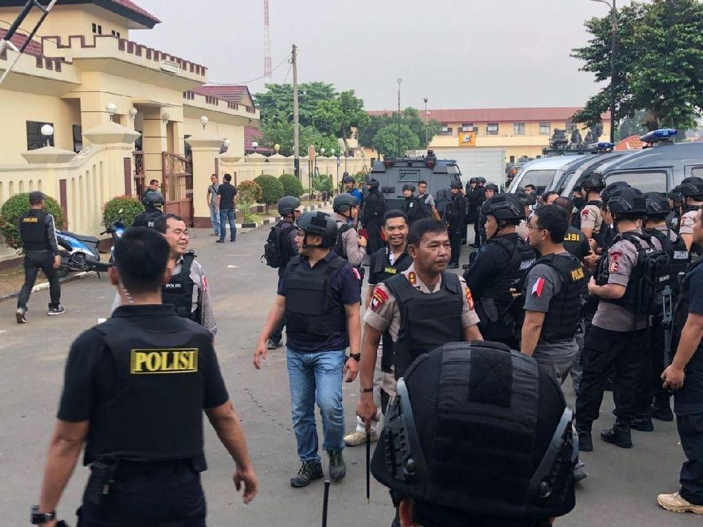 Dankor Brimob: Napi Sempat Rebut Bom Sitaan, Sudah Diledakkan