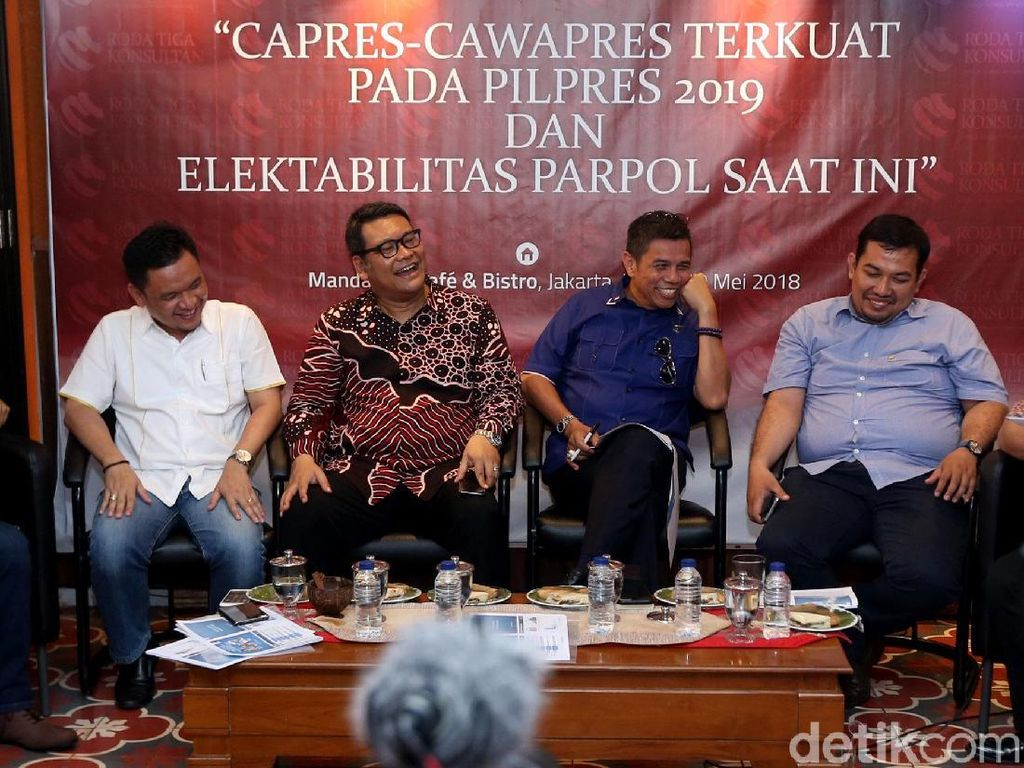Survei RTK Unggulkan Jokowi Meski Ada 3 Capres
