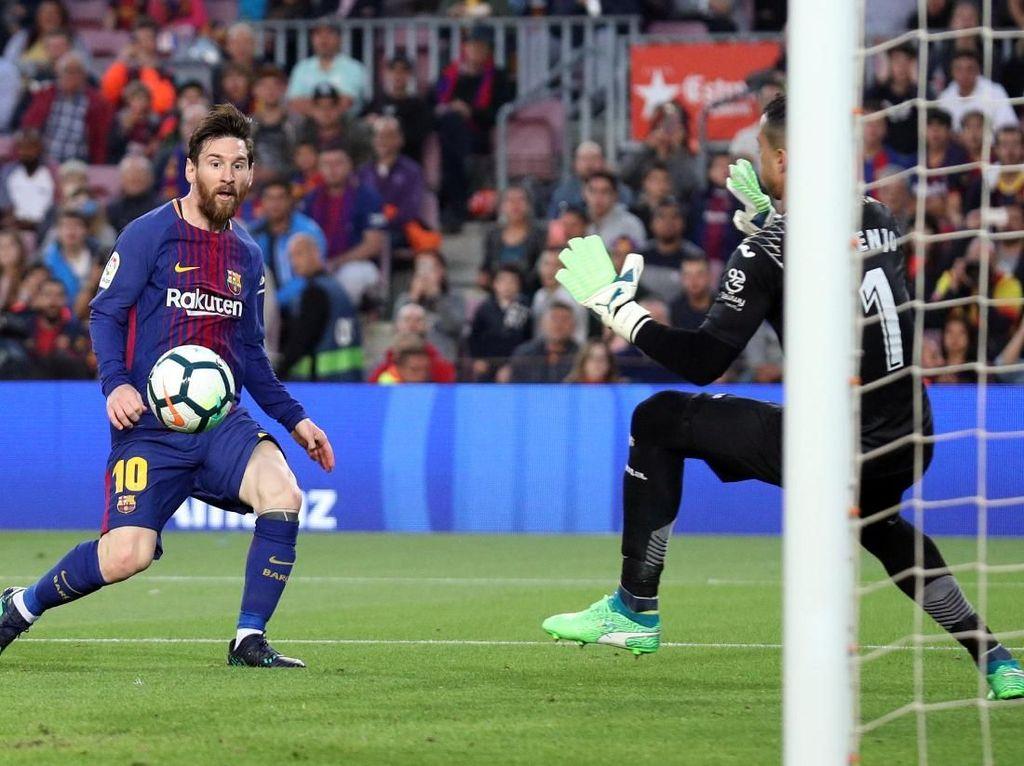 Barcelona Gasak Villarreal 5-1