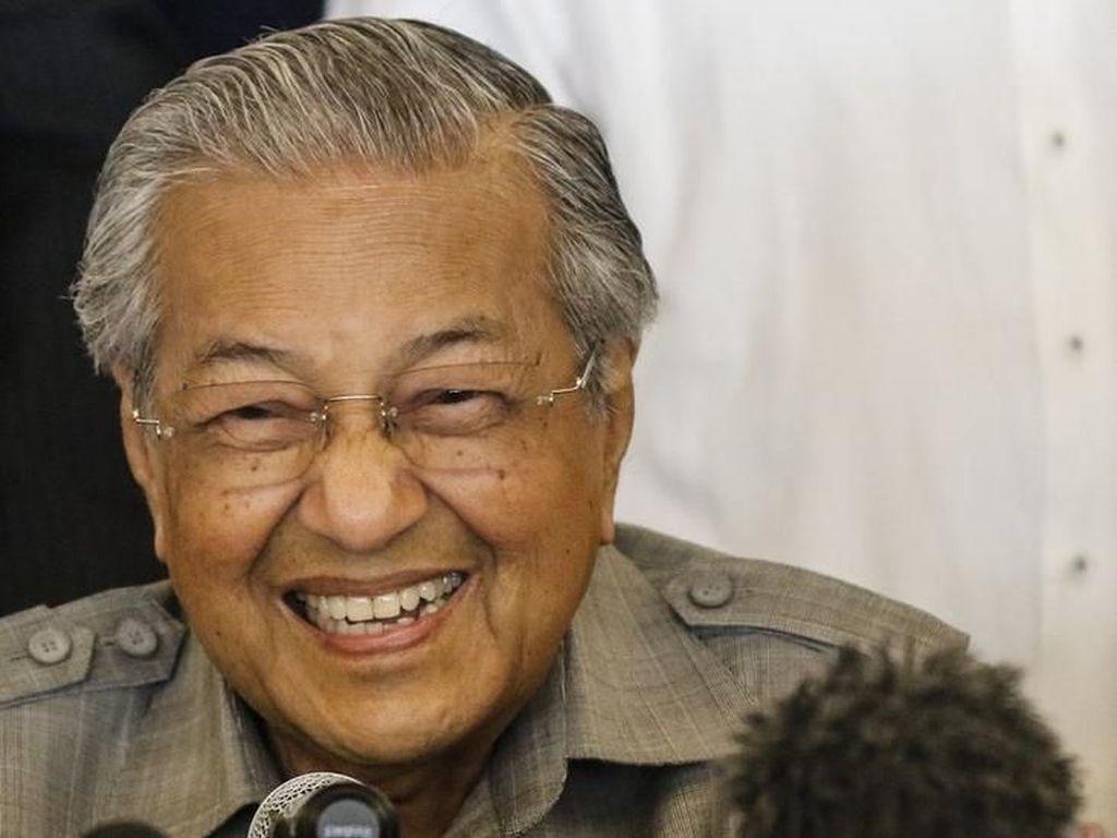 Resep Mahathir Mohamad Tetap Bugar dan Awet Muda di Usia 92 Tahun