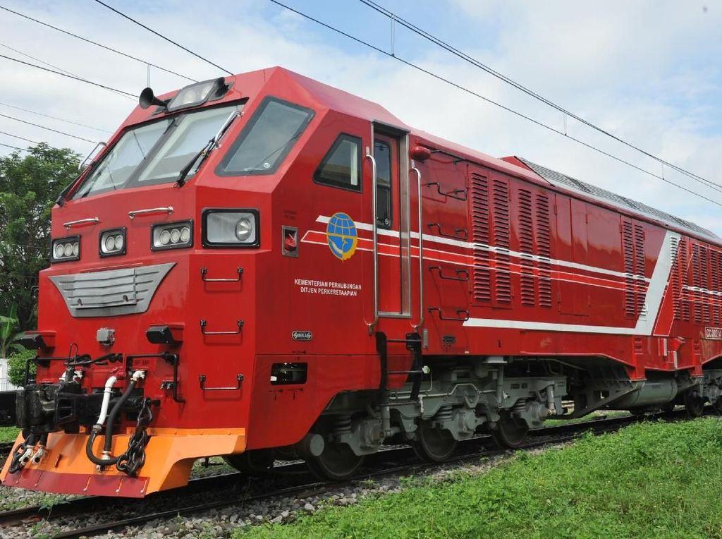 Ini Dia Kereta Penerjang Banjir Buatan INKA