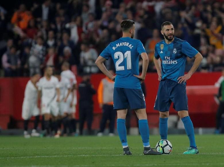 Madrid Ditekuk Sevilla, Zidane Tak Menyesal Lakukan Rotasi