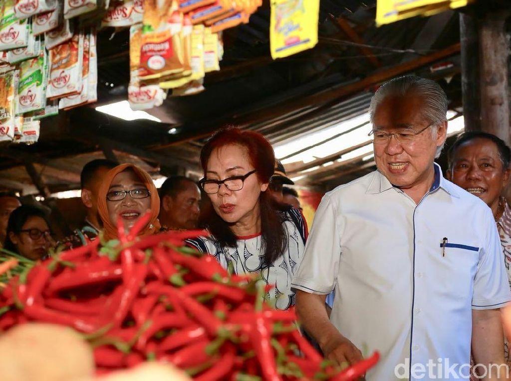 Blusukan di Pasar Banyuwangi, Mendag: Tidak Ada Kenaikan Harga