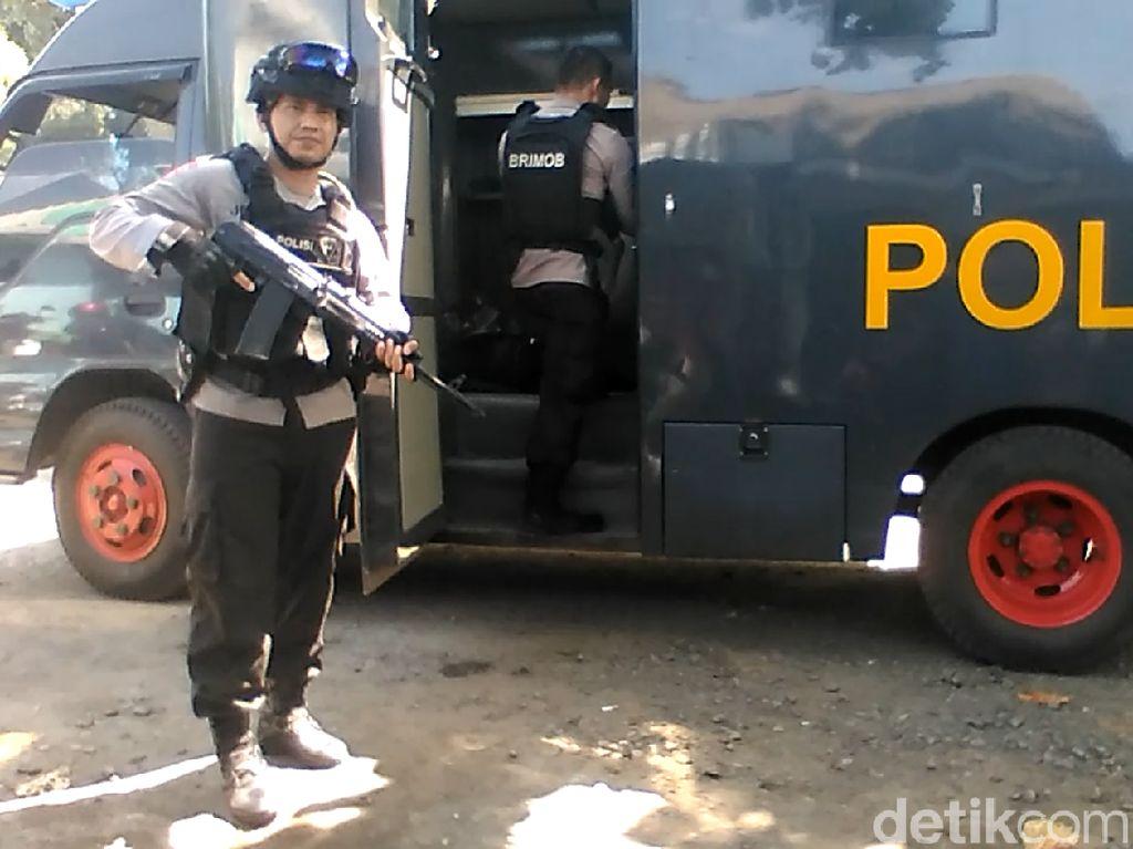 Polisi Bersiaga Jelang Pemindahan Napi Terorisme ke Cilacap