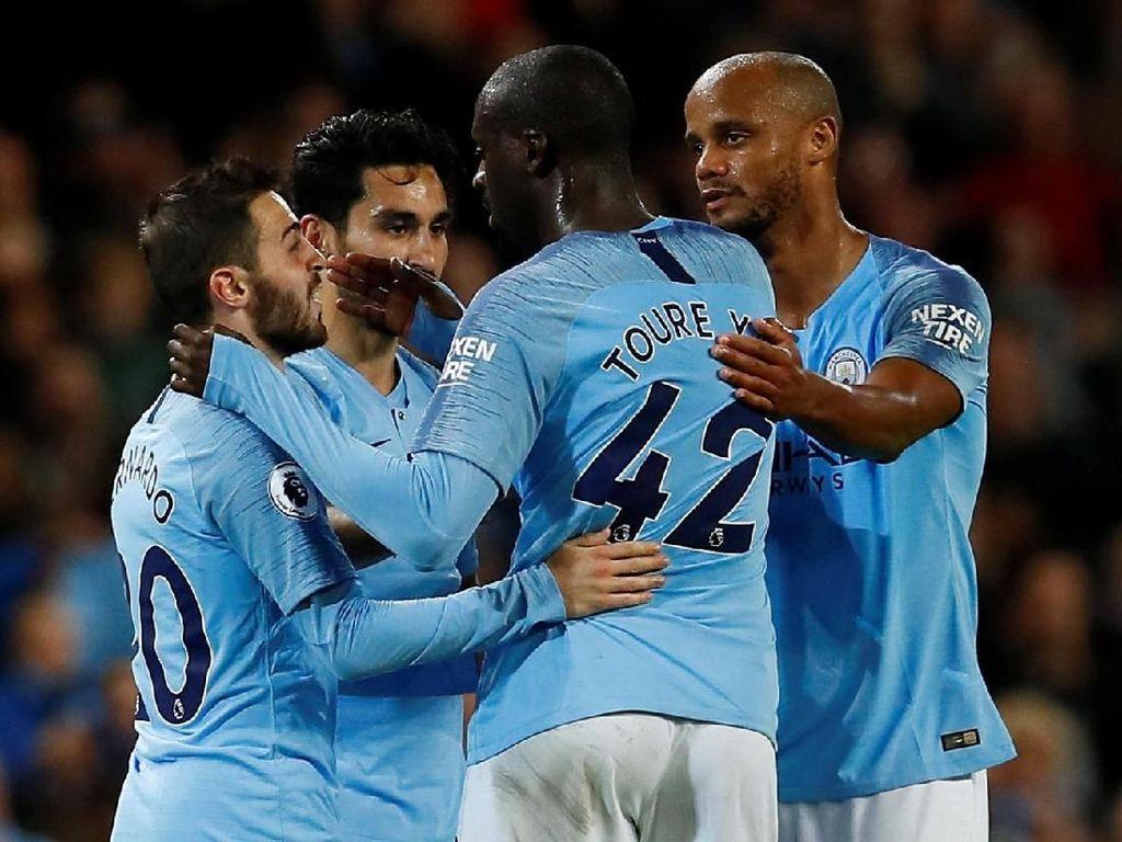 Manchester City Menuju 100 Poin