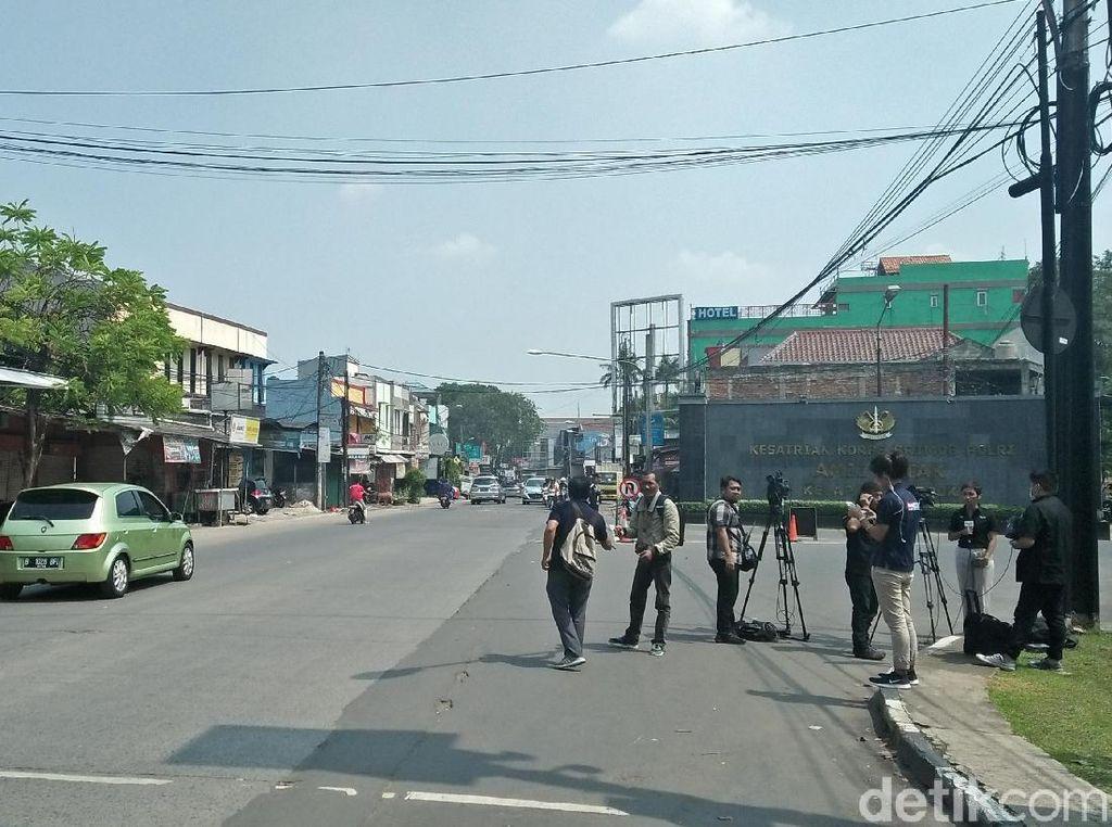 Jalan Depan Mako Brimob Dibuka Setelah Penyanderaan Berakhir