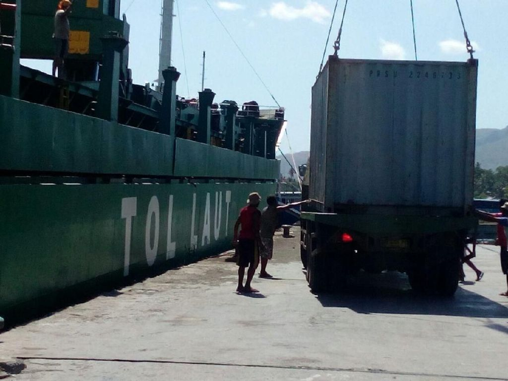 Modus Penyelundupan Lewat Tol Laut Terungkap