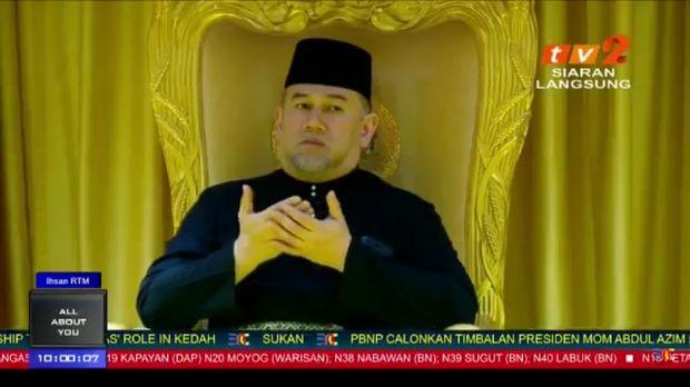 Yang di-Pertuan Agong, Sultan Muhammad V