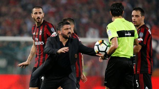 Gennaro Gattuso berambisi meraih kemenangan pertamanya atas J