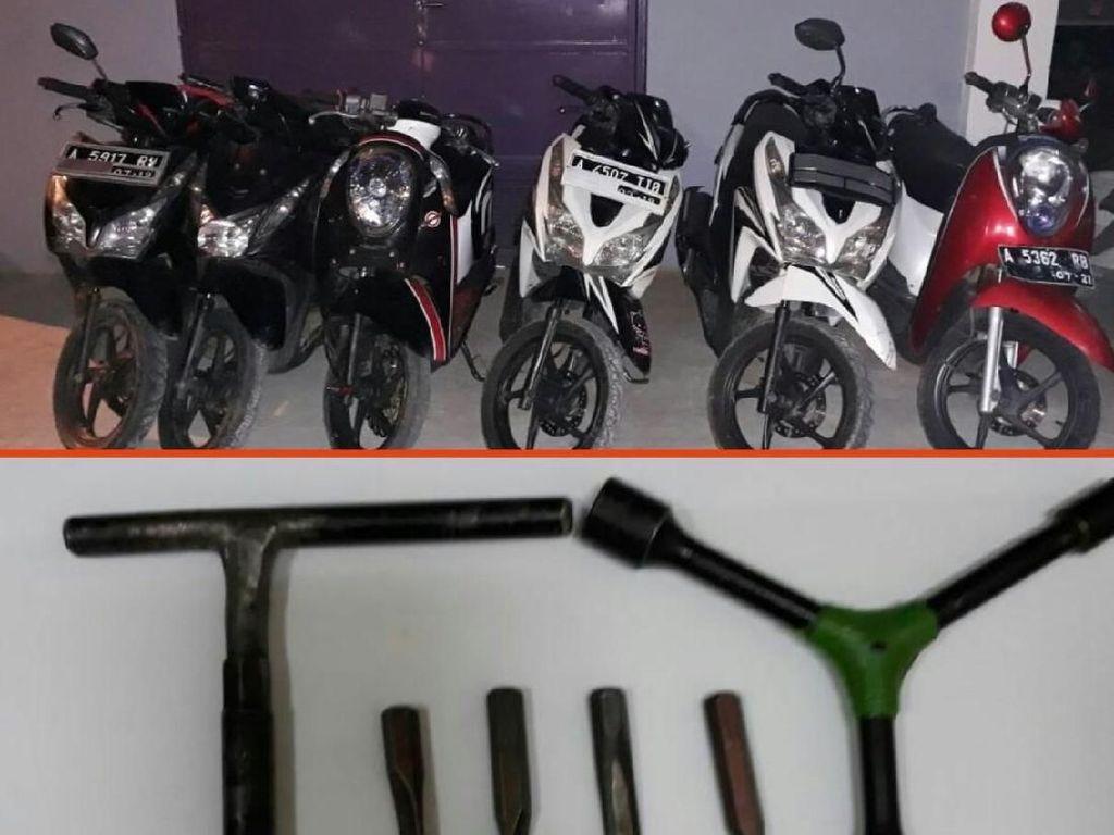 Komplotan Curanmor di Tangerang Ditembak Polisi