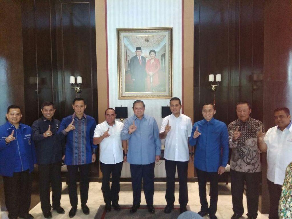 Dukung Edy-Ijeck, SBY: Dua Putra Terbaik ini Siap Pimpin Sumut