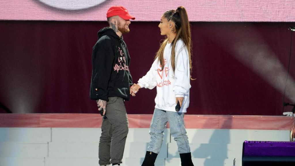 Permintaan Maaf Menyentuh Ariana Grande untuk Mac Miller