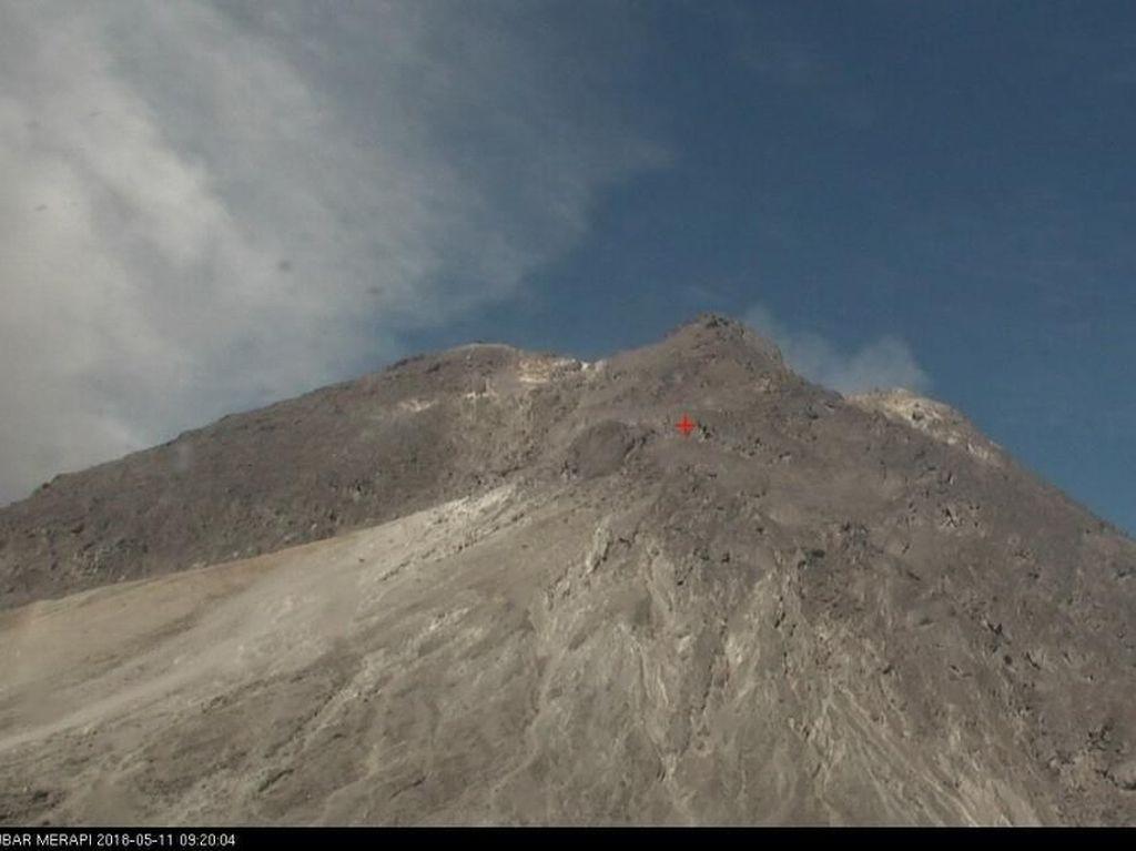 Pasca Letusan Freatik Gunung Merapi, Magelang Terpantau Aman