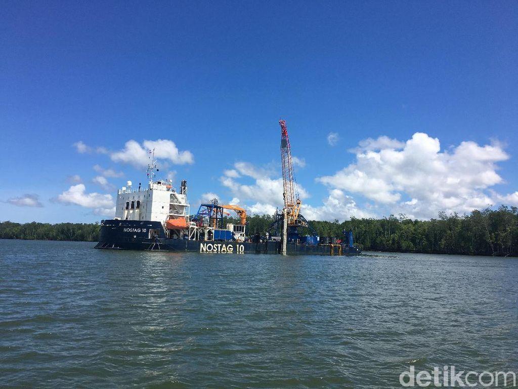 Kabel Optik Palapa Ring Indonesia Timur Resmi Digelar