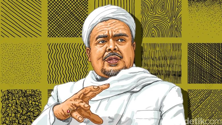 BIN Siap Bantu Habib Rizieq soal Kasus Bendera Tauhid di Saudi