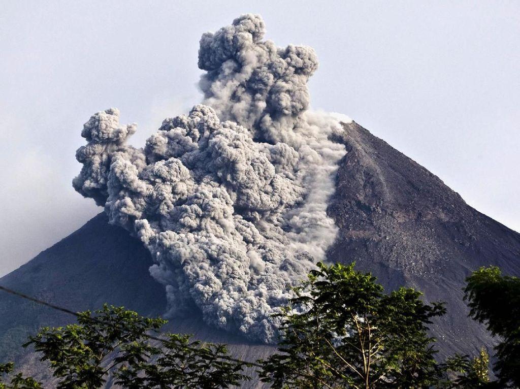 Tak Hanya Freatik, Ini Jenis-jenis Erupsi Gunung Berapi