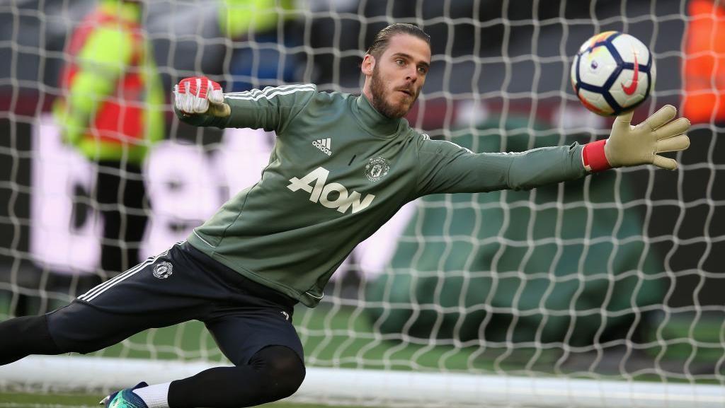 Lagi, De Gea Jawab Spekulasi ke Madrid