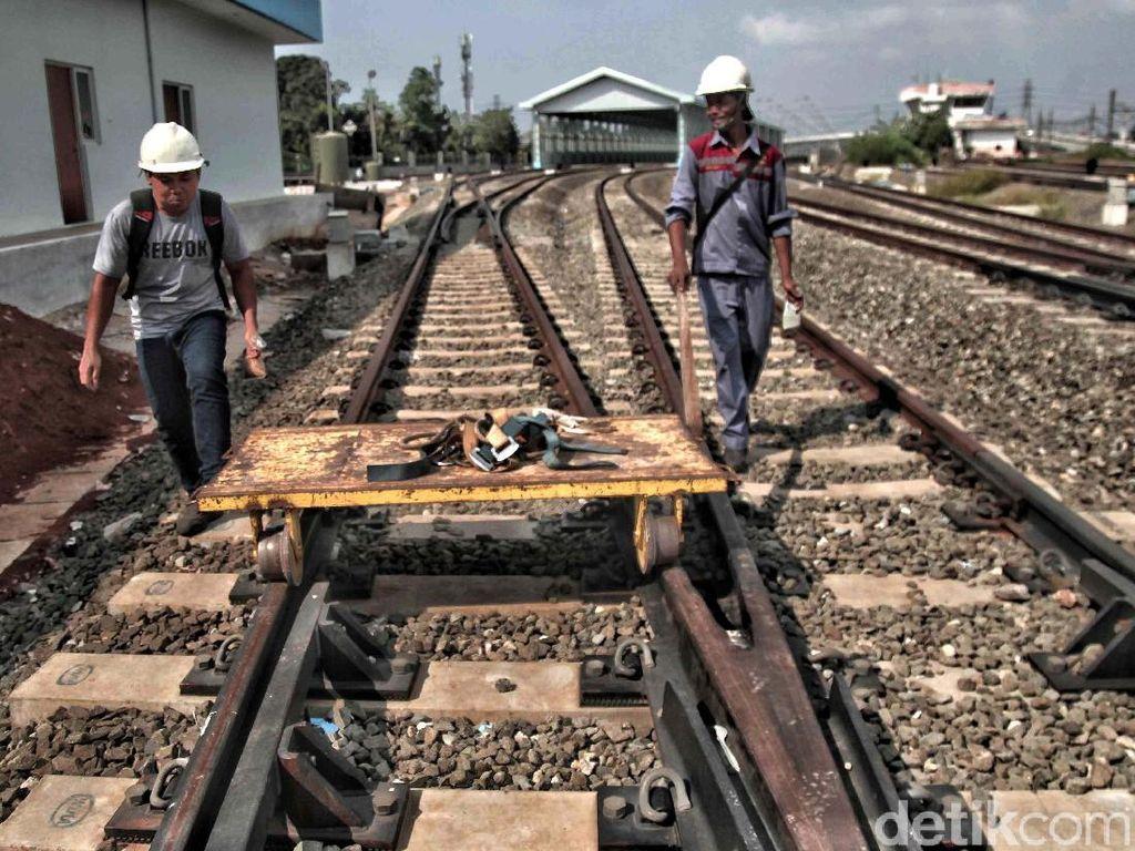 Double Double Track Jatinegara-Cakung Mulai Operasi Jumat Ini