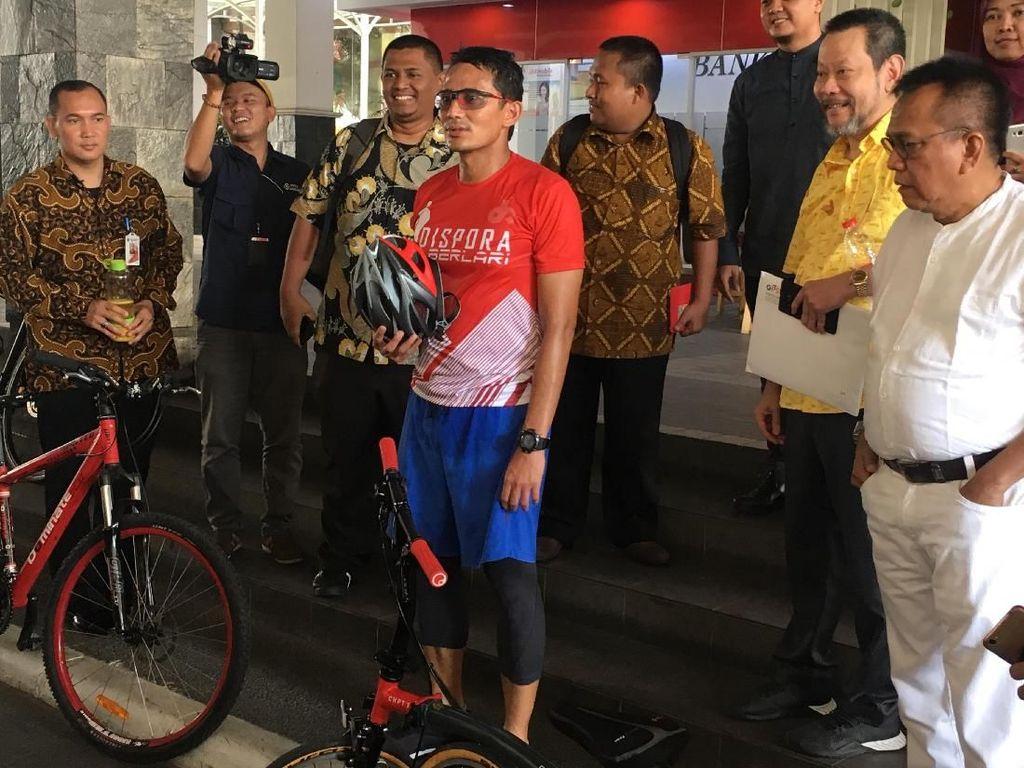 Rusuh Mako Brimob, Sandi Yakinkan Jakarta Aman Saat Asian Games
