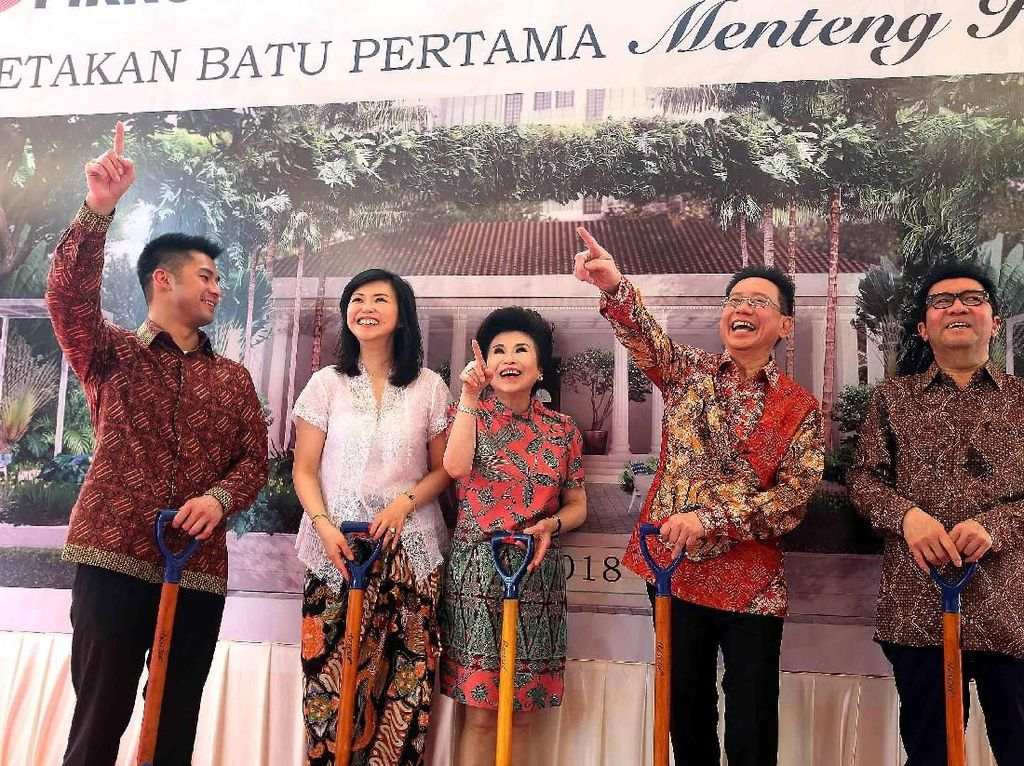 Pembangunan Cagar Budaya Bersejarah Kota Jakarta di Menteng