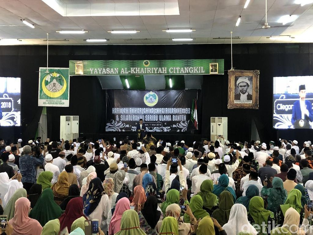 Jokowi Janji Jadikan Brigjen KH Syamun Jadi Pahlawan Nasional