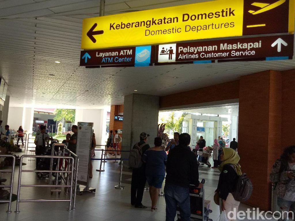 1,3 Juta Penumpang Padati Bandara Ngurah Rai Bali Saat Lebaran
