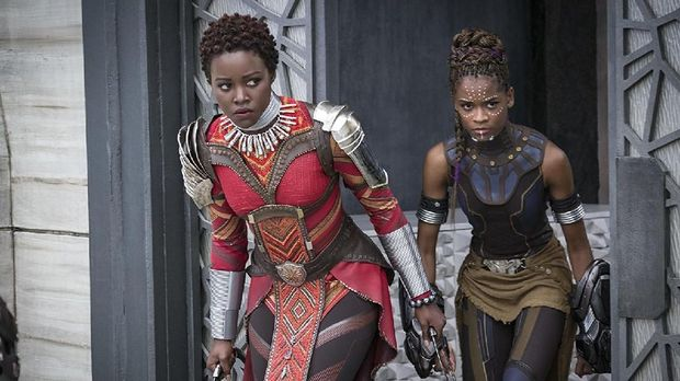 Kostum dalam 'Black Panther.'