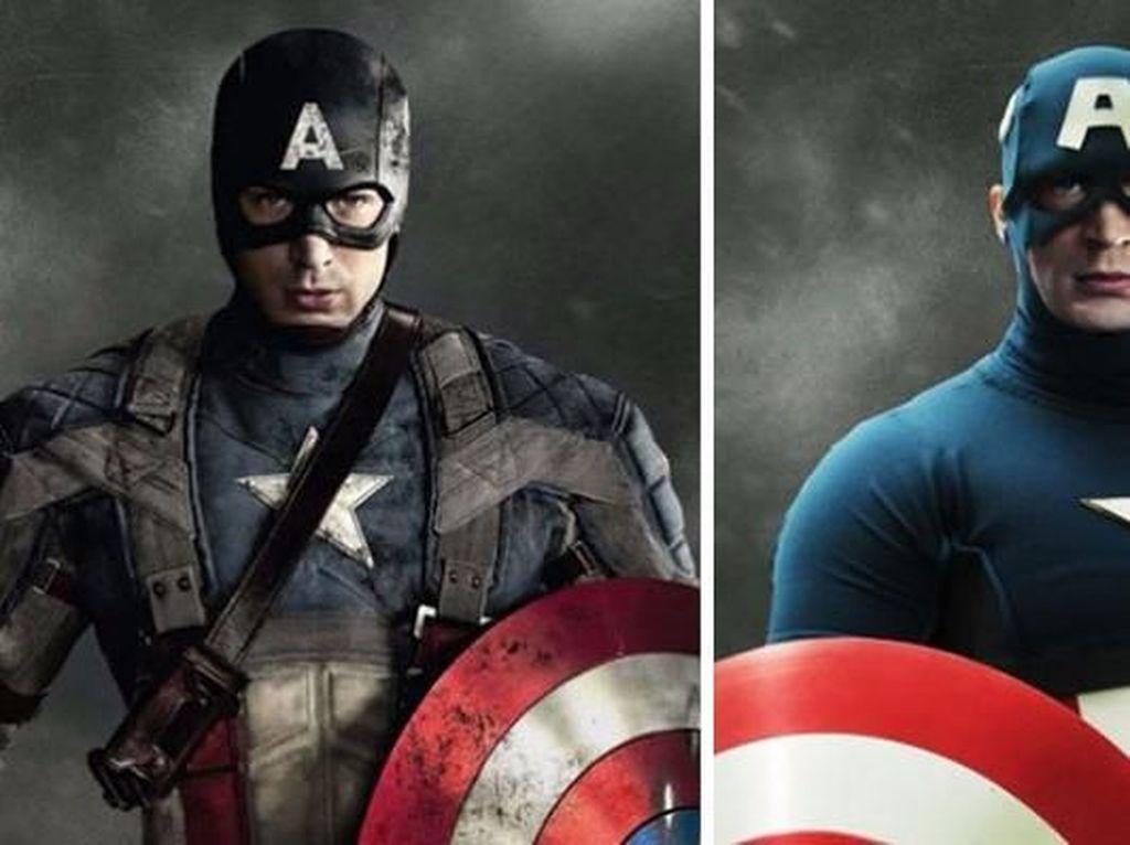 Seperti Ini Kostum Avengers  Sesuai Komik
