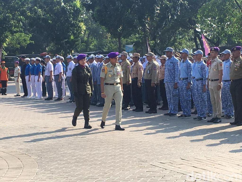 Sandiaga Pimpin Upacara HUT Menwa Jayakarta ke-56