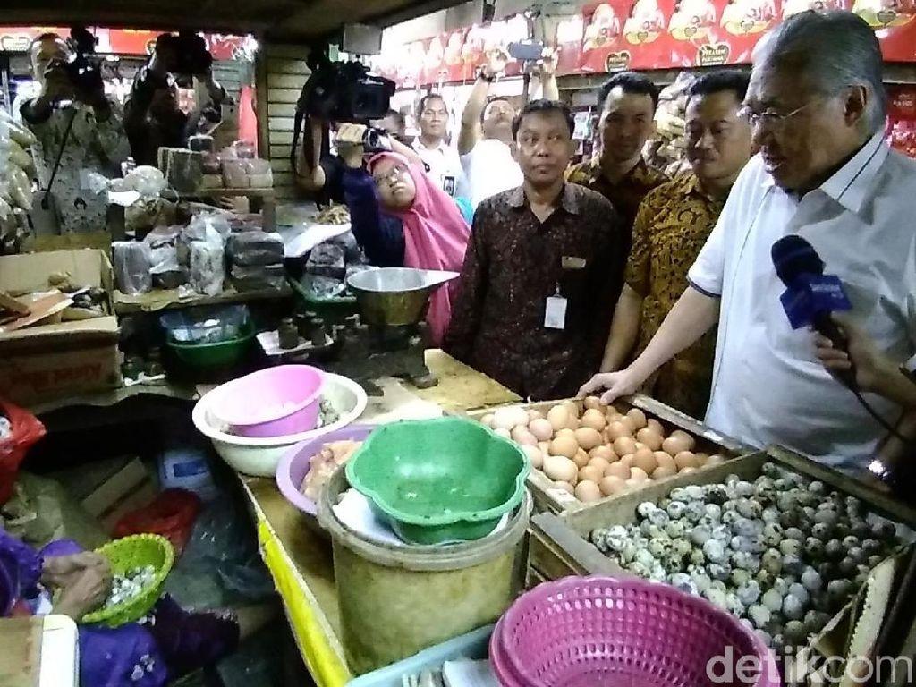 Mendag Kasih Waktu 1 Minggu Pedagang Pangkas Harga Telur Ayam
