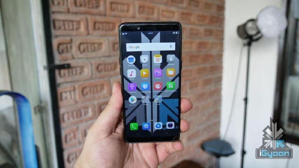 Penampakan Realme 1, Ponsel Baru Oppo Tanpa Notch