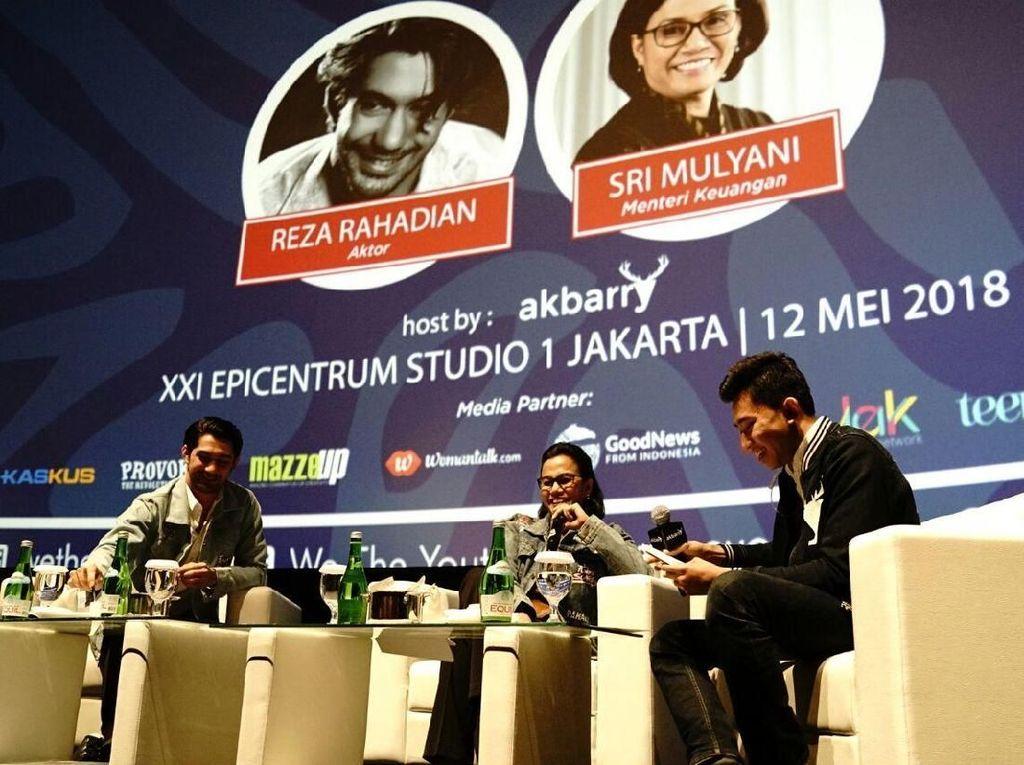 Reza Rahadian Tanya Sulitnya Ambil KPR, Ini Kata Sri Mulyani