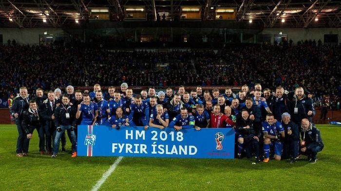 Timnas Islandia sudah mengumumkan skuat Piala Dunia 2018. (Foto: Twitter @footballiceland)