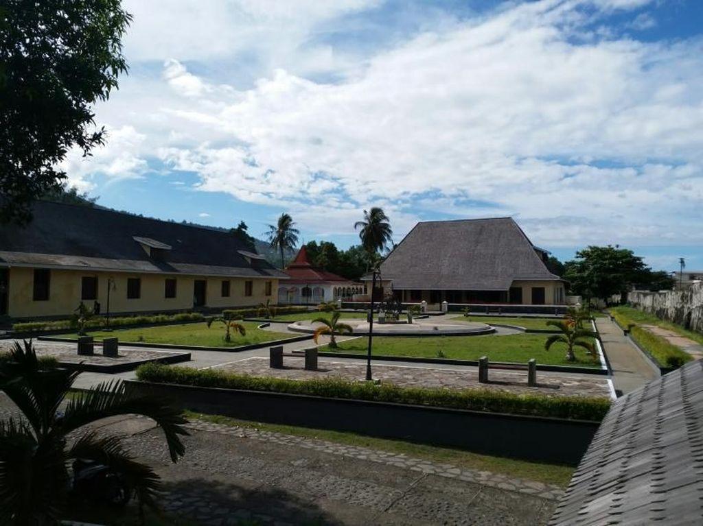 Benteng Cantik Peninggalan Belanda di Ternate