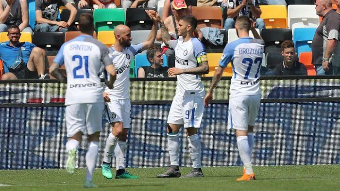 Luciano Spalletti menilai Inter Milan sudah membuat kemajuan. (Foto: Gabriele Maltinti/Getty Images)