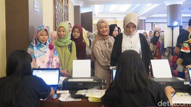 Suasana Sunsilk Hijab Hunt 2018 di Bandung.