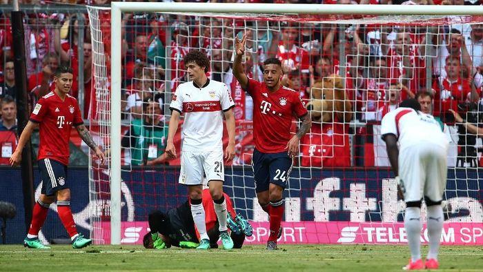 Bayern Munich kalah 1-4 dari Stuttgart di laga terakhir Bundesliga 2017/2018 (Foto: Michael Dalder/Reuters)