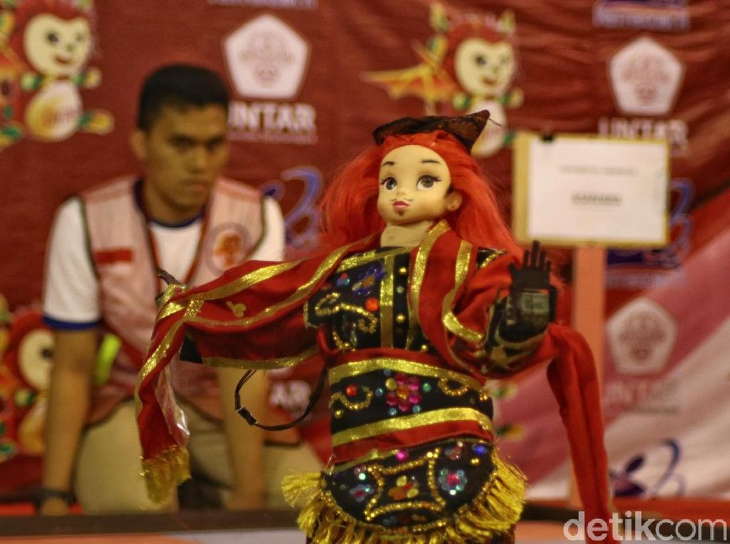 Kerennya Kontes Robot Indonesia di Jakarta