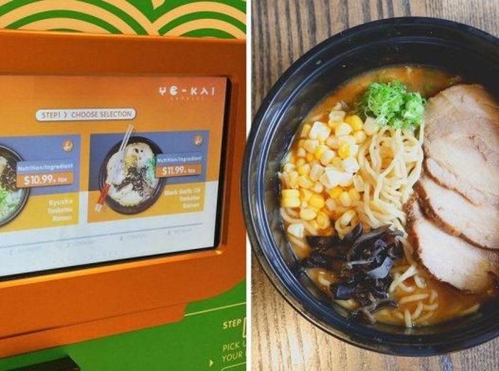 Kesal Tak Bisa Makan Ramen 24 Jam, Pria Ini Ciptakan Vending Machine Ramen