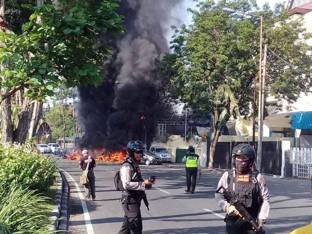 Jumlah Korban Tewas Teror Bom Gereja di Surabaya Jadi 4 Orang