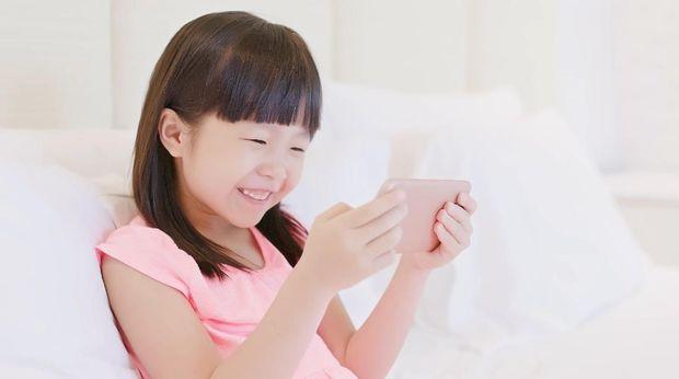 Ilustrasi gadget untuk anak
