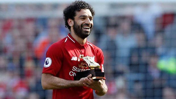 Mohamed Salah jadi pahlawan baru bagi orang-orang Mesir. (