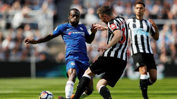 Chelsea tertinggal 0-1 dari Newcastle di babak pertama. (Foto: Lee Smith/Action Images via Reuters)
