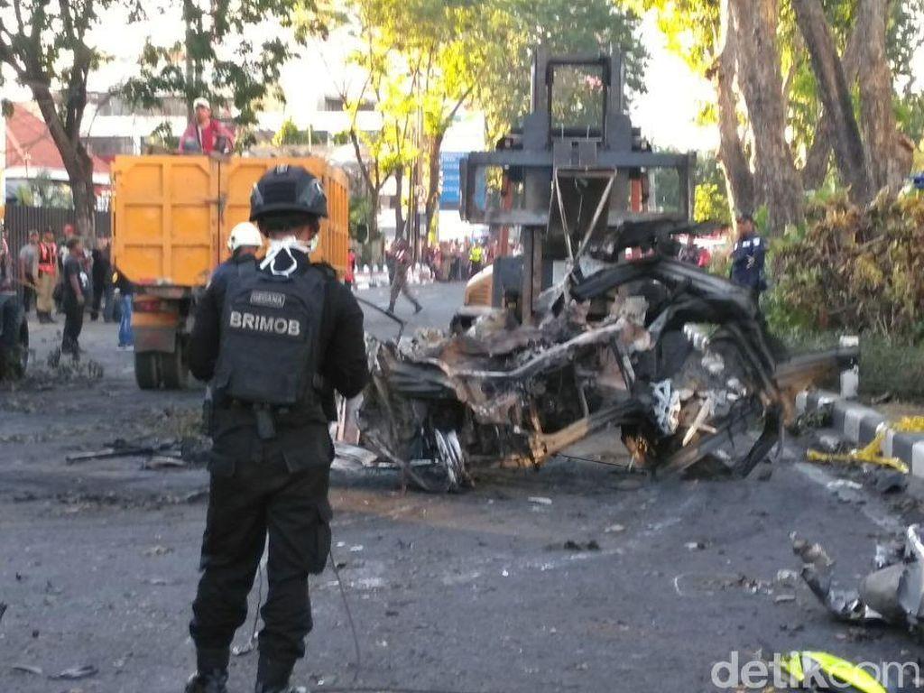 Pengebom Gereja Surabaya Rakit Bom di Rumah
