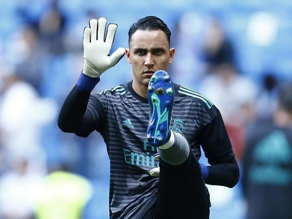 Tentang Clean Sheet Keylor Navas dalam Pesta Gol Real Madrid